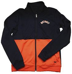 Victorias Secret PINK Detroit Tigers Track Jacket Small Navy * Be sure to check out this awesome product.