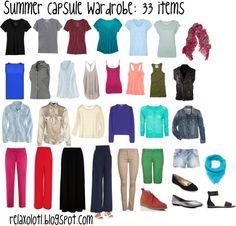 Relaxolotl: Project 333: Summer Capsule Wardrobe