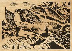 scroll saw pattern turtle