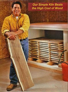 Proper Stickering Technique To Air Dry Lumber For
