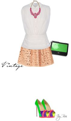 """Drome skirt"" by ivybui on Polyvore"