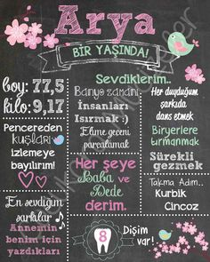 Arya'nın bahar temalı 1 yaş partisine hazırladıgımız özel panomuz Girl First Birthday, Unicorn Birthday, Baby Shower, Happy B Day, The Little Prince, Cafe Design, Kids And Parenting, First Birthdays, Diy And Crafts