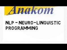 Introductio to Neuro-Linguistic Programming theory Anakom is helping individuals and organization achieve better results through transforming adult education. Programming, Company Logo, Education, Onderwijs, Learning, Computer Programming, Coding