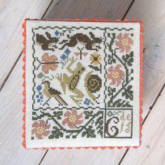 Prairie Schooler embroidery