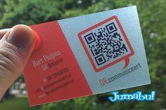 awesome Tarjetas Personales con Código QR