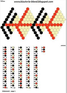 Tutorial na kulki szydełkowe TUTAJ   1. Kulka w środku 20 mm, koraliki 11/0               2. Saffron.   Kulka w środku 14 mm, koraliki 15...