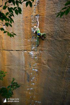 Monique Forestier, Orange Juice (5.12c), Funk Rock City, Red River Gorge, Kentucky, USA.