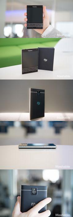 The BlackBerry Passport.