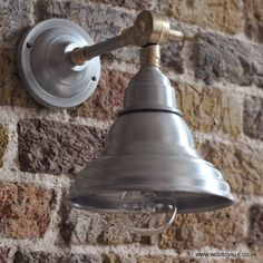 Wall Sconce Rough In Height : Vintage Barn Sconce Antique Brass, 249 at Restoration Hardware, does it match Troy lighting ...
