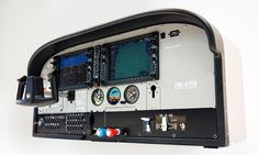 The TRC Flight Deck is designed to be used at home or flight schools to train students and to learn them to recognize the function of all instruments Ultralight Plane, Aircraft Instruments, Flight Simulator Cockpit, Cessna 172, Pilot Training, Best Flights, Flight Deck, Schools, Students