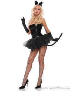 9a11426cf Sexy Sequins Kitty Womens Cat Costume. Halloween CatDiy Halloween  CostumesAdult ...