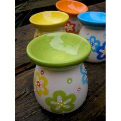 """Aromalampa keramická zelená """"Kytka"""" - JAM Decoré Planter Pots, Tableware, Dinnerware, Tablewares, Dishes, Place Settings"""