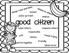 WHAT MAKES SOMEONE A GOOD CITIZEN WRITING PROMPT