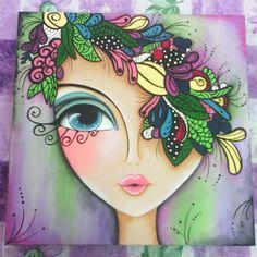 View andreinafumero27's instagram image Cuadro de rostro #zentangle #manualidades #cuadros #cursos #pinturasobremadera #artesania #Venezuela #cursosenlosteq 1013278189169469423_1693211592 • Stalkture