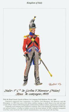 Kingdom Of Naples, Kingdom Of Italy, Royal Guard, Napoleonic Wars, Military History, Warfare, Italian Army, Historia, Soldiers