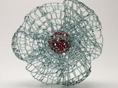 Nadja Recknagel -- Powerhouse Museum - Love Lace :: Searching for Lightness - flame work glass.