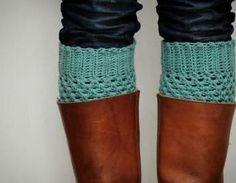 Crochet Boot Cuffs In Pas..
