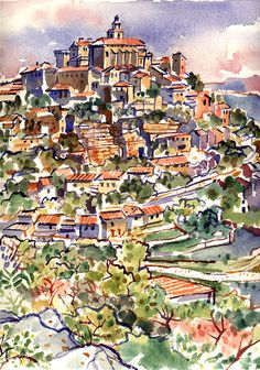 Gordes, Provence, Rob Kemp, 1989