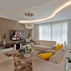 moderne Wohnzimmer von Designer de Interiores e Paisagista Iara Kílaris