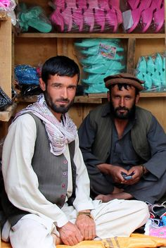 At the Bazaar in Badakshan Province, Afghanistan. Badakhshan Province is one of the 34 provinces of Afghanistan, located in the northeastern part of the country between Tajikistan and northern Pakistan. (V)