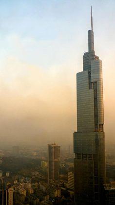 9. Zifeng Tower, in Nanjing, China 1476 ft