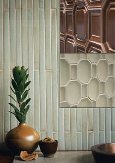 1000 images about bamboo glass tiles on pinterest Bamboo backsplash