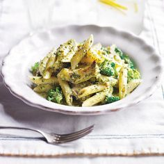 Chicken pesto pasta. Find more recipes here or on RedOnline.co.uk.