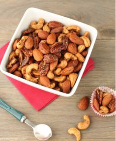 Chipotle and Rosemary Roasted Nuts [RECIPE]