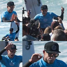 Faces of a champion at the moment of winning the 2015 Rip Curl Pro Bells Beach #MickFanning #Eugene #RipCurlPro #BellsBeach #surf #surfing #SurfPhotography #SportsPhotography #champion #waves #wsl @mfanno @ripcurl_aus @wsl by kickittome http://ift.tt/1KnoFsa