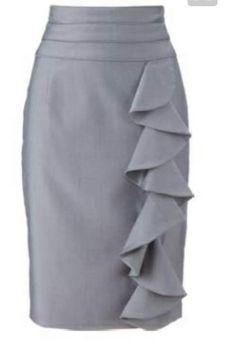 693a6e2bff4 147 mejores imágenes de faldas largas y cortas en 2019