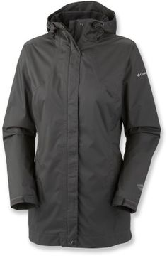Stay dry even in extreme conditions wearing the Columbia Splash A Little rain jacket. Whether it's walking your dog on a blustery day or hiking along rainy trails, this jacket promises protection.      Omni-Tech™ waterproof coating keeps rain out but stays breathable so that you stay comfortable during any activity; seams are fully sealed to protect vulnerable spots     Nylon taffeta lining feels comfortable against skin and adds an extra layer of protection against the elements