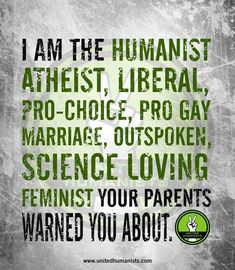 I'm a pro-life pagan, but everything else on this list is something I'm proud of!