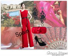 #Red and #Black #style! Get the look at http://blog.gresso.com/