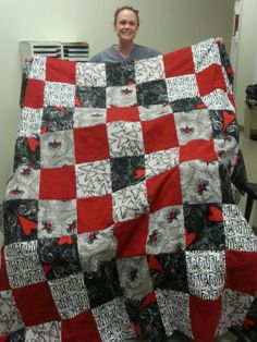 Kim's rag quilt