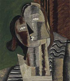 Georges Braque, Tête de femme II