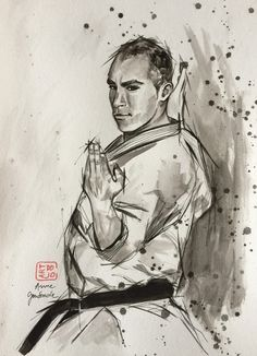Karate do Portraits, Expositions, Dojo, Karate, Painting, Paintings, Painting Art, Painted Canvas, Head Shots