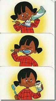 Secuencia lavado de dientes