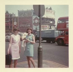 Piccadilly Circus, London, 1961