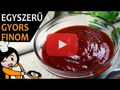 Ketchup házilag - Recept Videók - YouTube Pudding, Make It Yourself, Youtube, Desserts, Blog, Recipes, Home Made, Simple, Essen