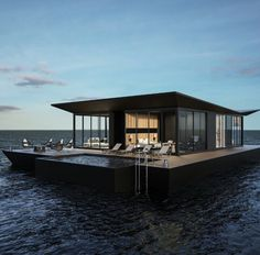What a house boat !