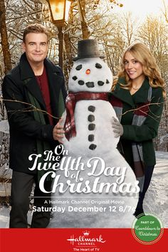 """Its a Wonderful Movie - Your Guide to Family Movies on TV: Hallmark Channel Christmas Movie """"On the Twelfth Day of Christmas"""""""