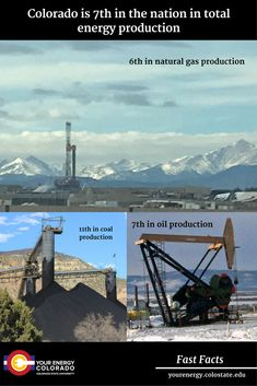 Fossil Fuel Production in Colorado – Extension – Your Energy Colorado Colorado State University, Nature, Life, Naturaleza, Nature Illustration, Off Grid, Natural