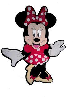Minnie Mouse en foamy 90n cm de alto
