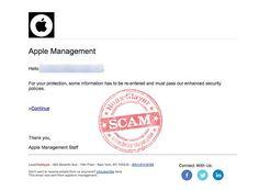 Apple 'Enhanced Security Policies' Phishing Scam