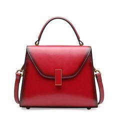 5ef54644d330 Genuine Leather Women Handbag