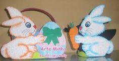 Resultado de imagem para decorações de sala coelhinhos em creche