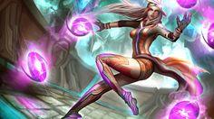 League of Legends Syndra Dodgeball Skin Art Gevurah_studios High Resolution 4096x2560