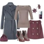 shoes, purse--eh.  rest--love. - (Shirt, jacket, skirt, jewelry, nail color)