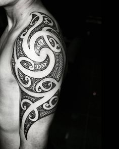 tribal tattoo for mens arm