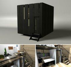 Micro House Design by Gabrijela Tumbas Papic